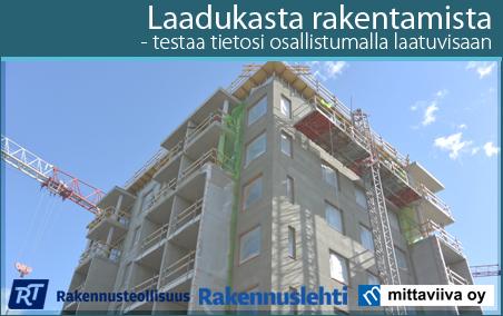srv rakennus työpaikat Kuhmo