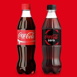 Coca-Cola 0,5 l 2 kpl 2,50 €