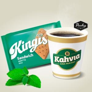 Kingis Sandwich ja kahvi 2 €