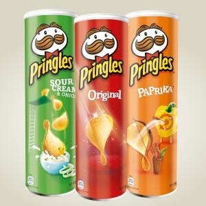 Pringles perunalastut 2 kpl 5 €