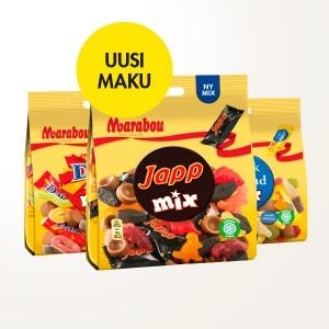 Marabou Mix –pussit 3,50 €