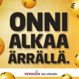 Onko sinun kioskisi Suomen onnekkain Ärrä?
