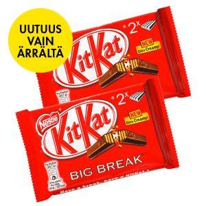 KitKat BigBreak vain Ärrältä
