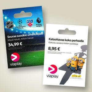 Viaplay Leffat + Sarjat 8,95 €/kk