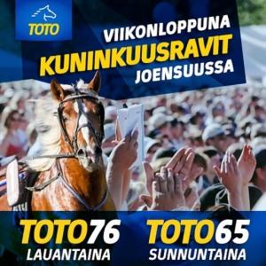 Kuninkuusravien ykköspelit: Toto76 ja Toto65!