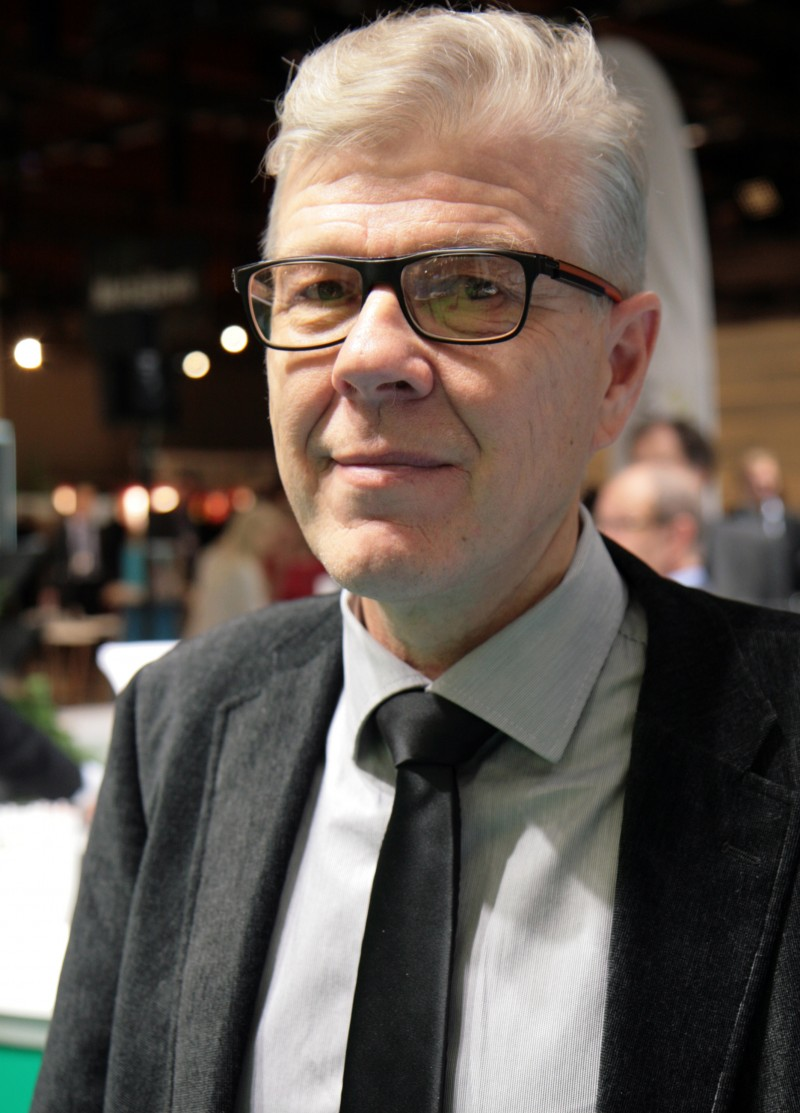According to Mr. Jorma Jyrkilä, the forest data based on the grid units will already be available this year. Photo: Anna Kauppi