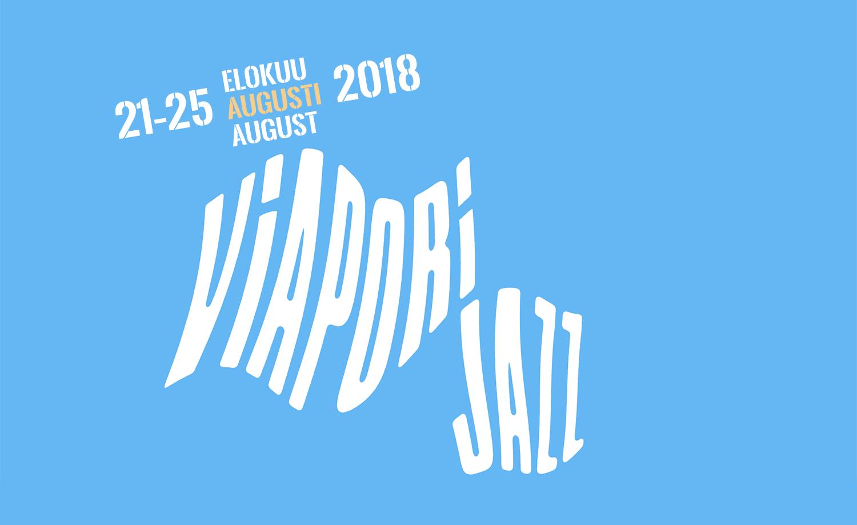 SInitaustainen kuva, jossa lukee Viapori Jazz sekä päivämäärät 21.-25.8.