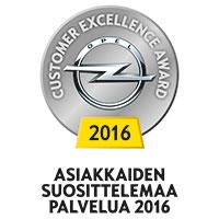 Opel Customer Excellence Award 2015