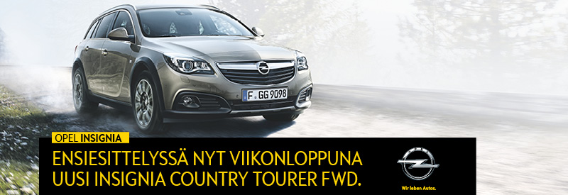 Opel Insignia Country Tourer FWD