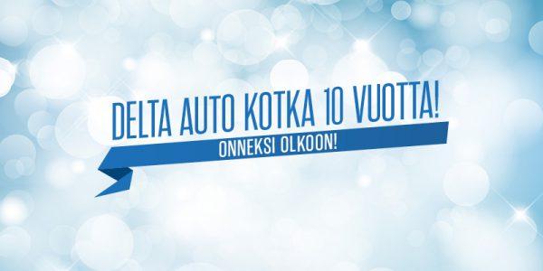 Delta Auto Kotka 10 vuotta