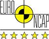 5 tähteä Euro NCAP -törmäystestissä
