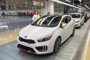 Kian Euroopan tuotanto saavutti 2 miljoonan auton rajapyykin