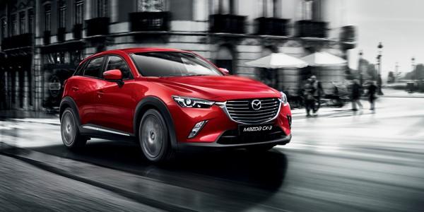 Täysin uusi Mazda CX-3