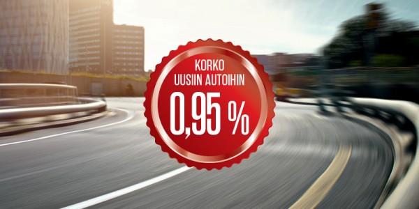 Huippuedullinen rahoitus uusiin autoihin