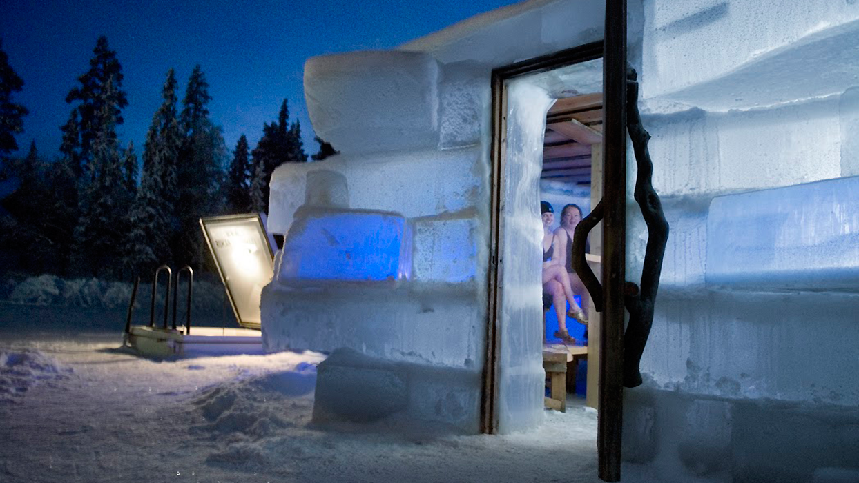 Could this be the quirkiest sauna in northern Finland?