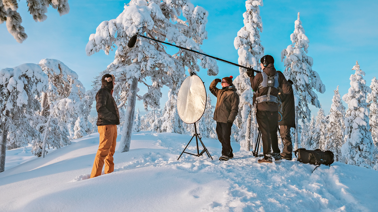 Take two and visit the reel Lapland