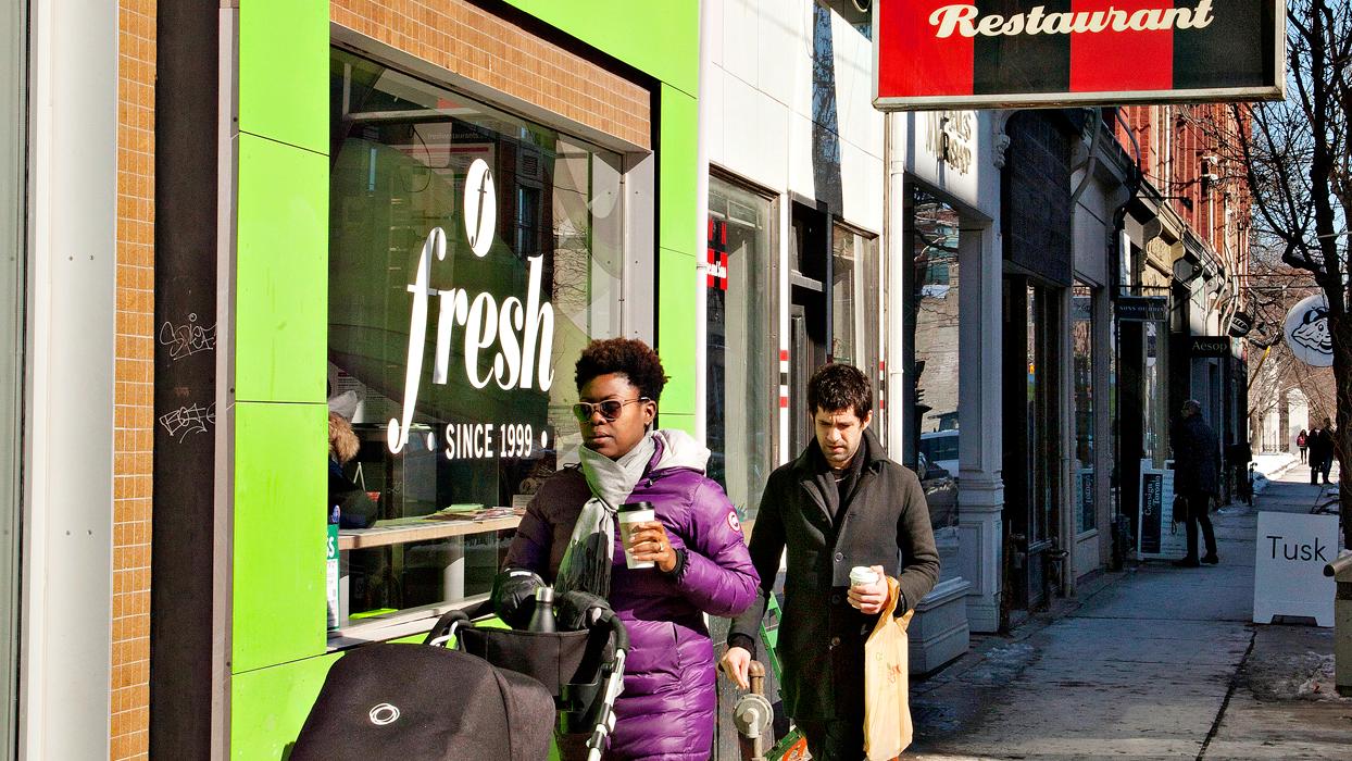 Take a design break in Toronto's hippest hood