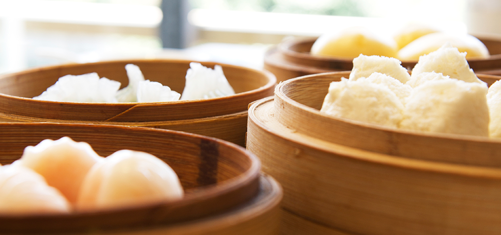 Guangzhou is famous for its snack foods such as dim sum.
