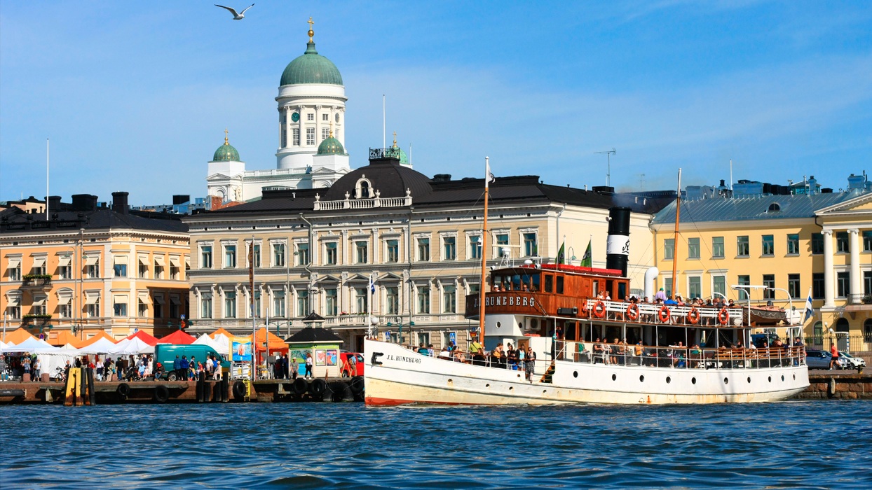 Get a taste of nautical Helsinki