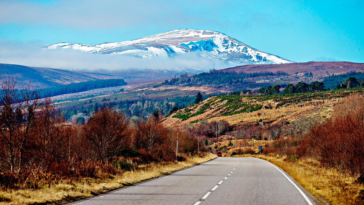 Hit the road in Scotland