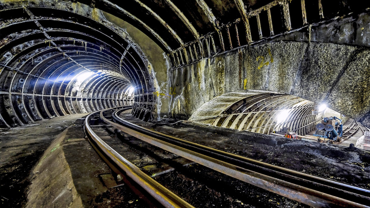All aboard London's Mail Rail