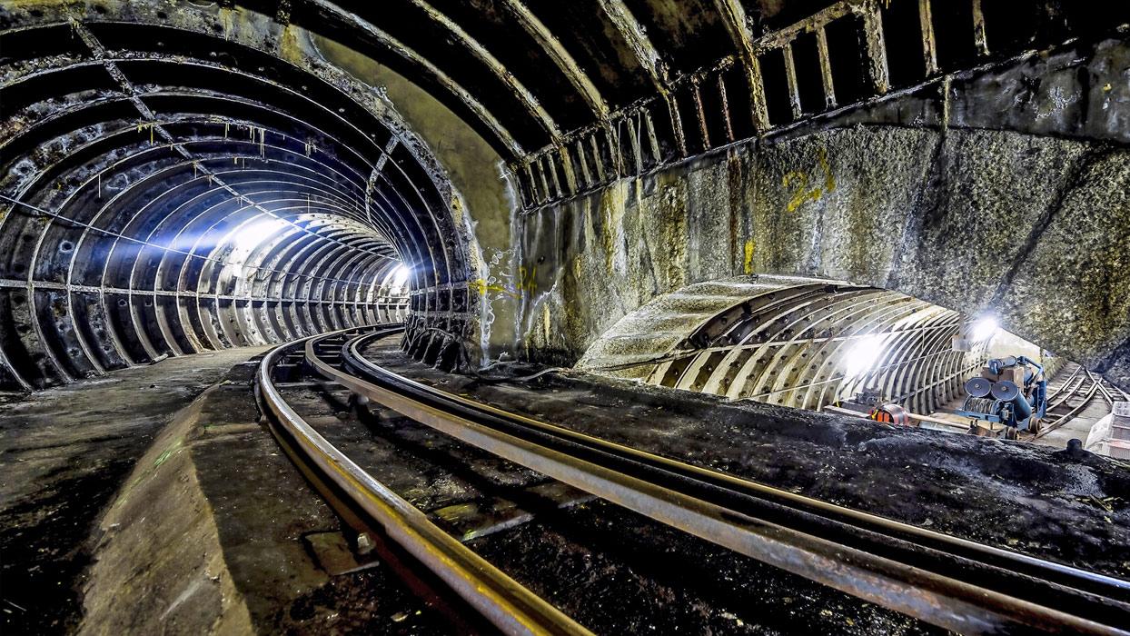 All aboard London's Mail Rail