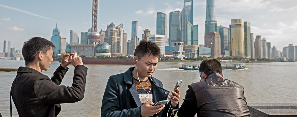 The anatomy of the cashless craze in China