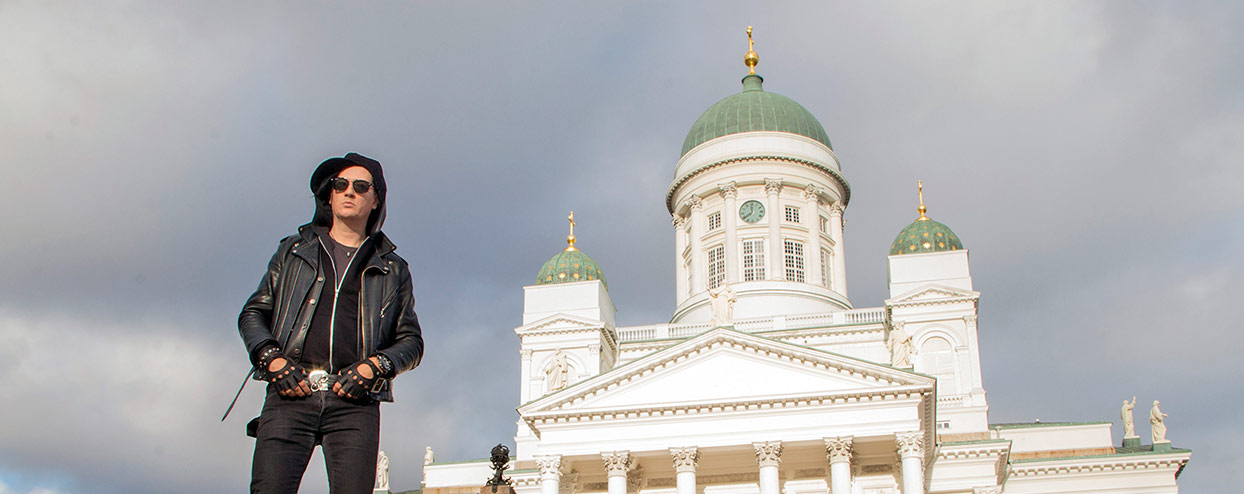 Why Helsinki is the perfect backdrop for heavy metal