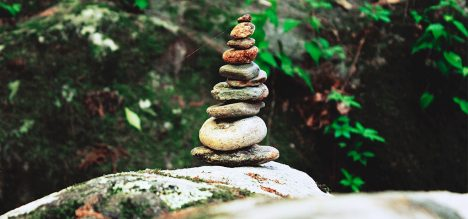 Is rock balancing the new yoga?