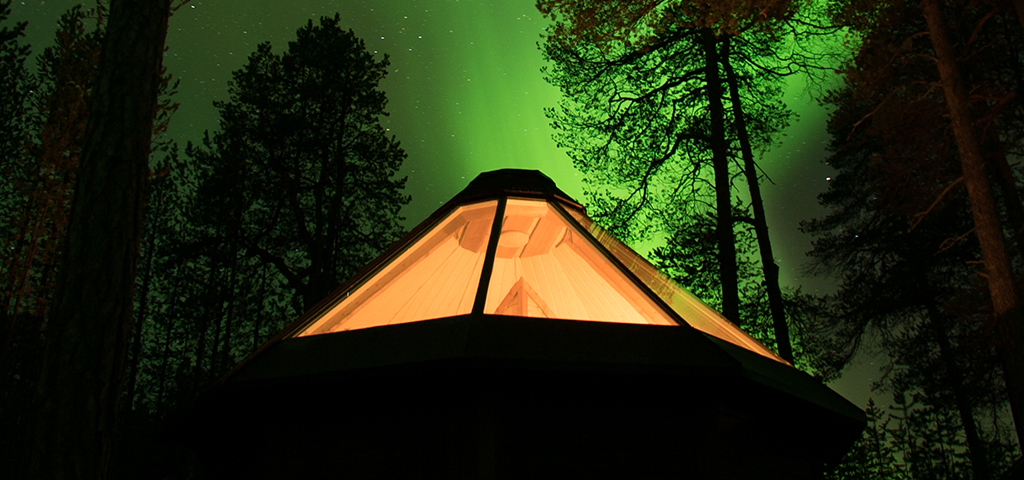 Discover the stars Lapland style