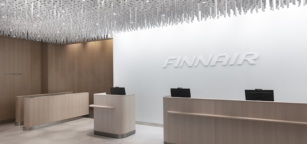 Take a peek inside the renewed Finnair Lounge at Helsinki Airport