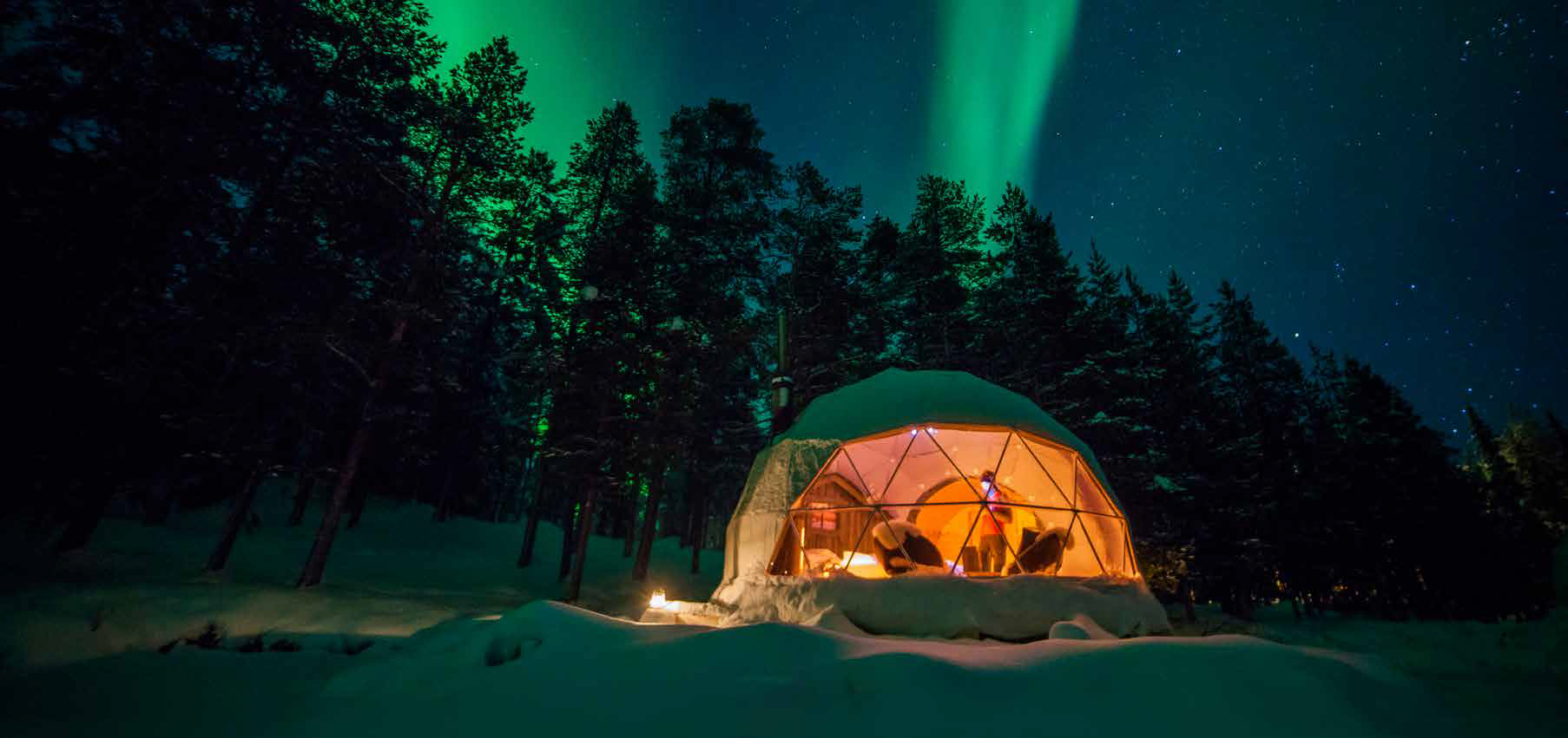 Finland's best glamping spots