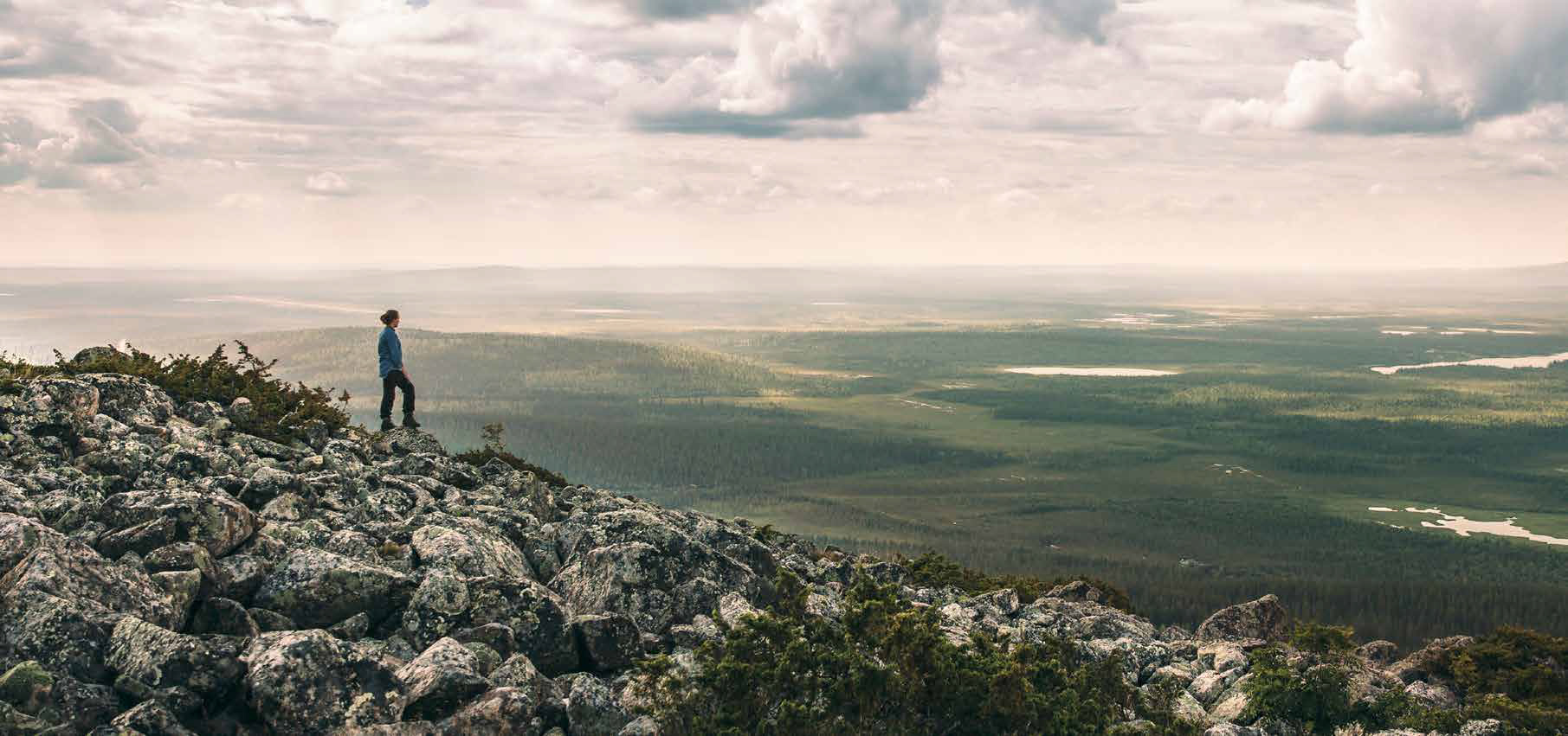 Recharge your batteries with nature therapy in Finnish Lapland