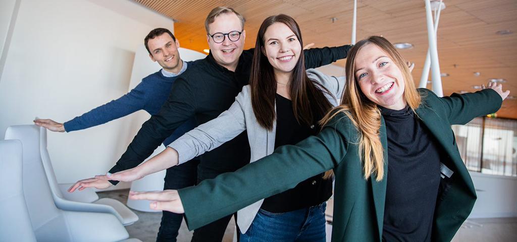 Meet four interns who kick-started their career at Finnair