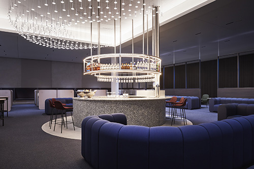 Step into Finnair's new, beautiful non-Schengen lounge