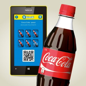Appsilla joka kuudes 0,5 l Coca-Cola 0 €