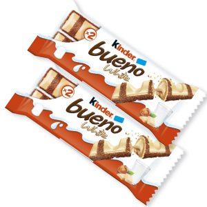 Kinder Bueno -suklaapatukat 2 kpl 4 €