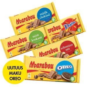 Maista suussasulava uutuus: Marabou Oreo -suklaalevy