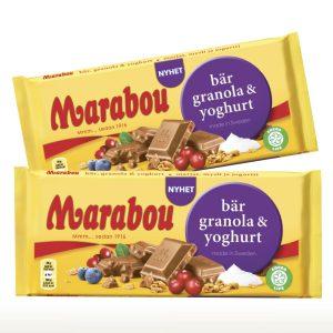 Marabou marja-mysli-jogurtti suklaalevy 2 kpl 5,50 €