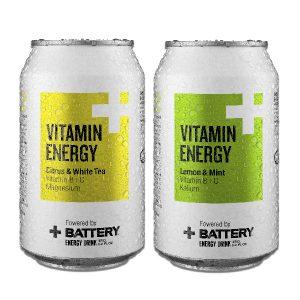 Battery Vitamin Energy 0,33 l 2 kpl 5 €