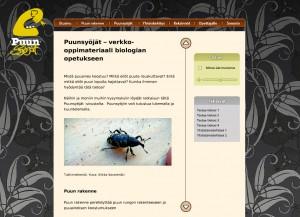 Puunsyöjät-verkko-opetusmateriaali