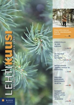 Lehtikuusi 1 / 2013 kansikuva