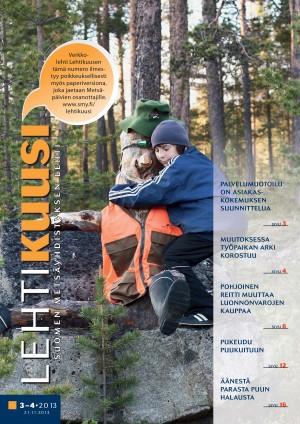 Lehtikuusi 3-4 / 2013 kansikuva